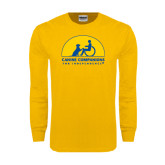 Gold Long Sleeve T Shirt-