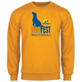 Gold Fleece Crew-Dog Fest Tall