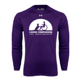 Under Armour Purple Long Sleeve Tech Tee-