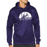 Adidas Purple Team Issue Hoodie-