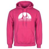 Fuchsia Fleece Hoodie-