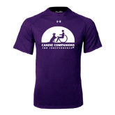Under Armour Purple Tech Tee-
