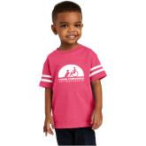 Toddler Vintage Hot Pink Jersey Tee-