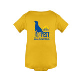 Gold Infant Onesie-Dog Fest Tall