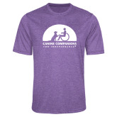 Performance Purple Heather Contender Tee-