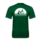 Performance Dark Green Tee-
