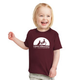 Toddler Maroon T Shirt-