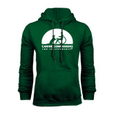 Dark Green Fleece Hood-