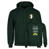 Dark Green Fleece Hood-Veterans Initiative