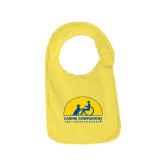 Yellow Baby Bib-
