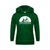 Youth Dark Green Fleece Hoodie-