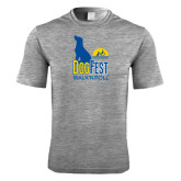 Performance Grey Heather Contender Tee-Dog Fest Tall
