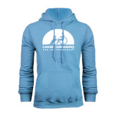 Light Blue Fleece Hood-