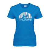 Ladies Sapphire T Shirt-Foil