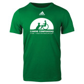 Adidas Kelly Green Logo T Shirt-