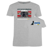 Ladies Grey T Shirt-Canine Companions Strong