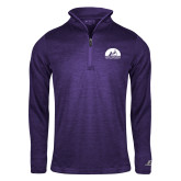 Russell Purple Heather 1/4 Zip-