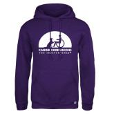 Russell DriPower Purple Fleece Hoodie-