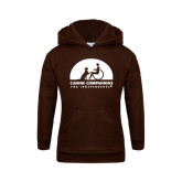 Youth Brown Fleece Hoodie-