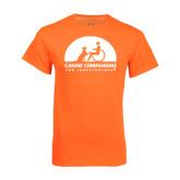 Neon Orange T Shirt-