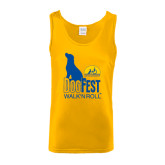 Gold Tank Top-Dog Fest Tall