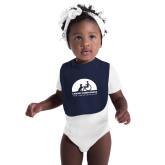 Navy Baby Bib-