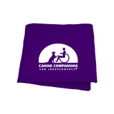 Purple Sweatshirt Blanket-