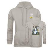 Khaki Gold Fleece Hoodie-One Team Two Heroes Stacked