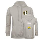 Khaki Gold Fleece Hoodie-Veterans Initiative