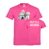 Cyber Pink T Shirt-Two Puppies