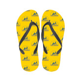 Ladies Full Color Flip Flops-