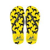 Full Color Flip Flops-Dog Pattern