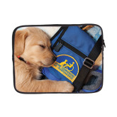 13 inch Neoprene Laptop Sleeve-Dog Sleeping