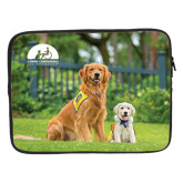 15 inch Neoprene Laptop Sleeve-Big Dog with Puppy