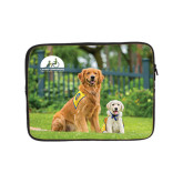 10 inch Neoprene iPad/Tablet Sleeve-Big Dog with Puppy