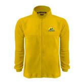 Fleece Full Zip Gold Jacket-