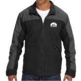 DRI DUCK Horizon Charcoal/Black Canvas Jacket-