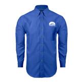 Mens Royal Oxford Long Sleeve Shirt-