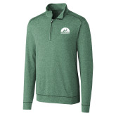 Cutter & Buck Shoreline Green 1/2 Zip-