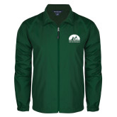 Full Zip Dark Green Wind Jacket-