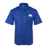 Royal Twill Button Down Short Sleeve-