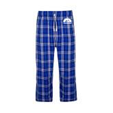 Royal/White Flannel Pajama Pant-