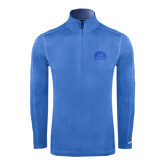 Nike Sphere Dry 1/4 Zip Light Blue Cover Up-