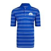Adidas Climalite Royal Textured Stripe Polo-