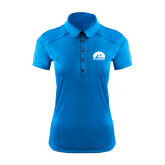 Ladies Ogio Sapphire Blue Pleated Back Polo-