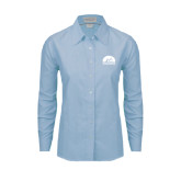 Ladies Light Blue Oxford Shirt-