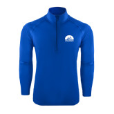 Sport Wick Stretch Royal 1/2 Zip Pullover-