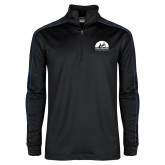 Nike Golf Dri Fit 1/2 Zip Black/Royal Cover Up-