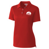 Ladies C&B Championship Red Polo-