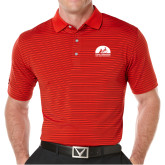 Callaway Core Stripe Red/Black Polo-